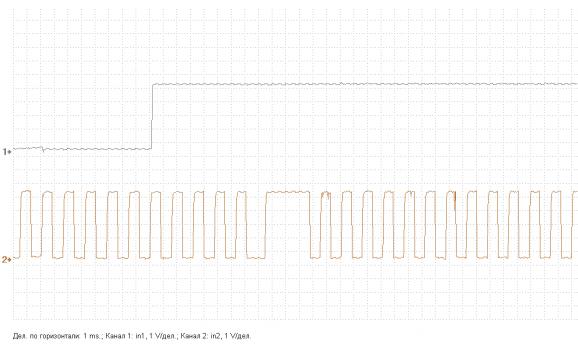 Эталон синхронизации - Сигнал ДПКВ + ДПРВ - KIA - Magentis 2005-2010 : Image 2