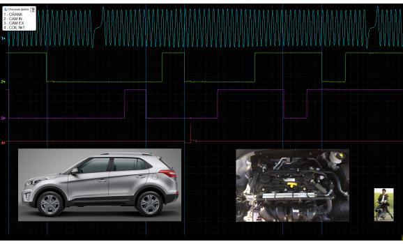 Эталон синхронизации - Сигнал ДПКВ + ДПРВ - Hyundai - Creta (ix25) 2014- : Image 2
