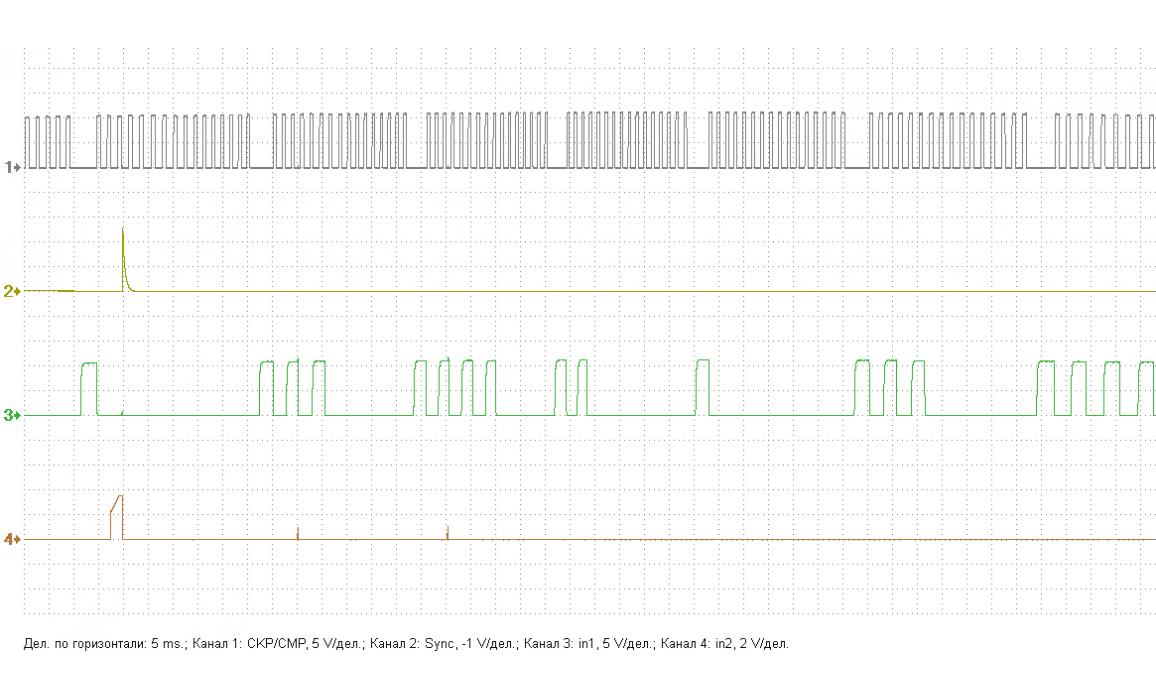 Растянута цепь - Сигнал ДПКВ + ДПРВ - Nissan - Primera 2001–2008 : Image 1