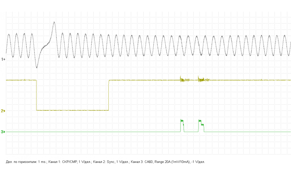 Good timing - CKP & CKM signal - KIA - Sportage 2004-2010 : Image 1