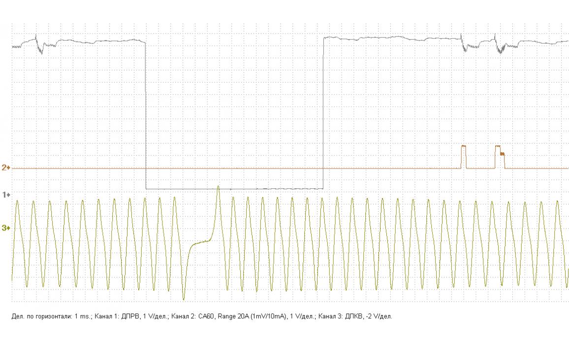 Эталон синхронизации - Сигнал ДПКВ + ДПРВ - Renault - Trafic 2001–2014 : Image 1