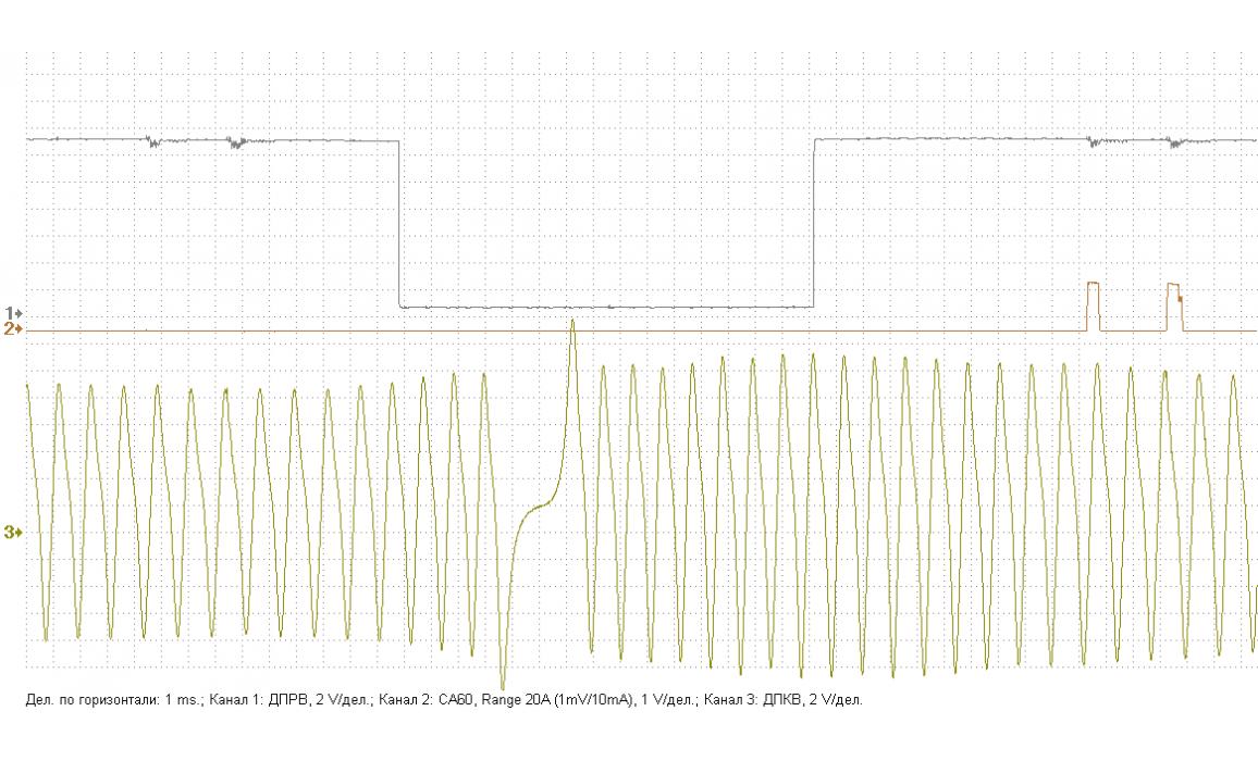 Эталон синхронизации - Сигнал ДПКВ + ДПРВ - Renault - Laguna II 2001-2007 : Image 1