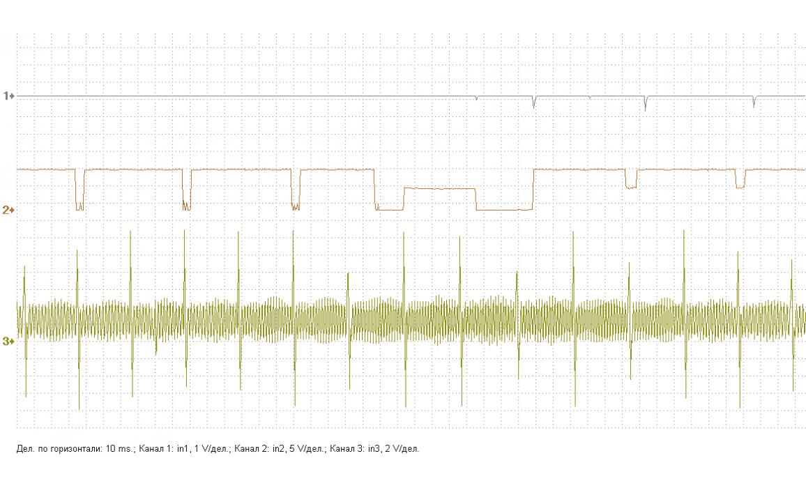Faulty CMP sensor - Output voltage - GAZ - 3302 Газель 1994-2010 : Image 1