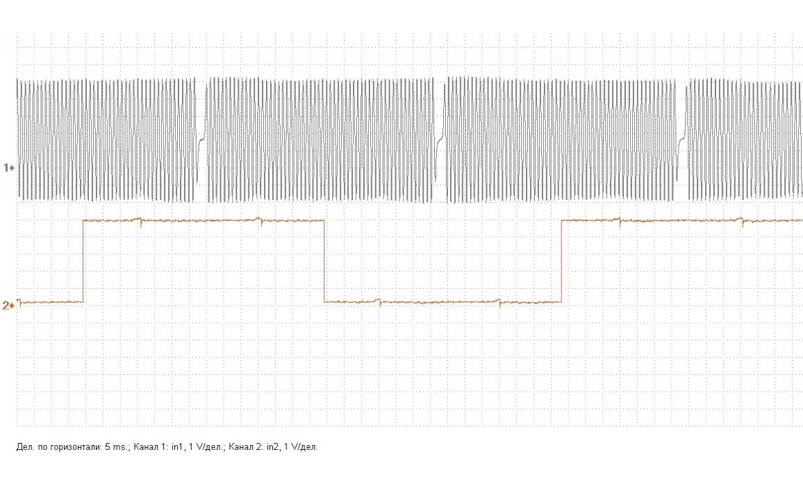 Эталон синхронизации - Сигнал ДПКВ + ДПРВ - Daewoo - Matiz 2000-2004 : Image 2