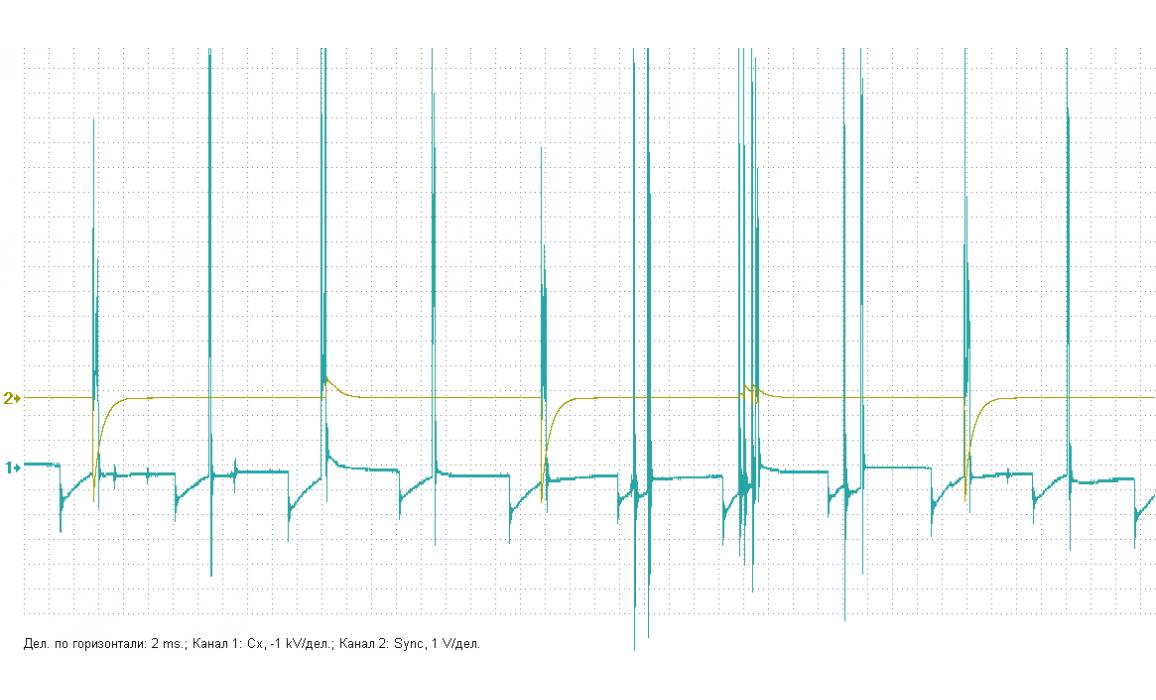 Плохой контакт в подключении питания катушки - Вторичное напряжение (емкостной датчик Cx) - Daewoo - Lanos 1997- : Image 3