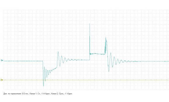 Неподходящая катушка зажигания - Вторичное напряжение (емкостной датчик Cx) - ВАЗ - 2108 : Image 2