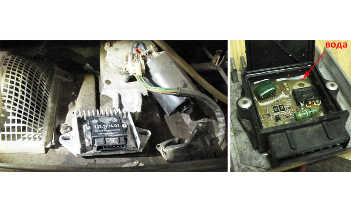 Faulty coil control module - Secondary voltage (Cx pickup clip) - VAZ - 2107 : Image 1