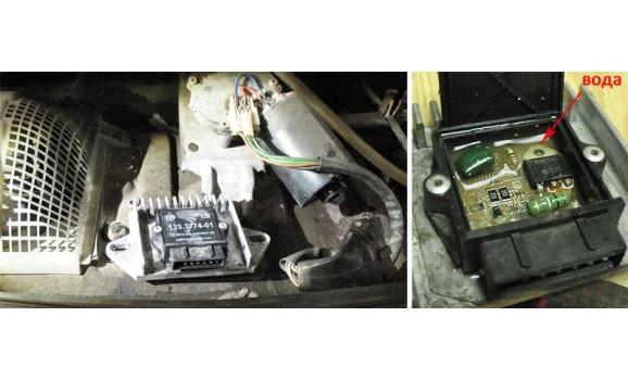 Неисправность коммутатора - Вторичное напряжение (емкостной датчик Cx) - ВАЗ - 2107 : Image 4