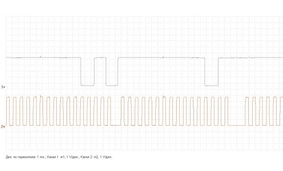 Эталон синхронизации - Сигнал ДПКВ + ДПРВ - Mitsubishi - Colt 2013- : Image 2
