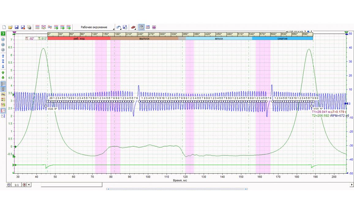 Провернут задающий диск ДПКВ - Давление в цилиндре - VAZ - 2112 1998-2008 : Image 2