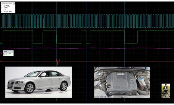 Good timing - CKP & CKM signal - Audi - A4 (B8) 2007-2015 : Image 2