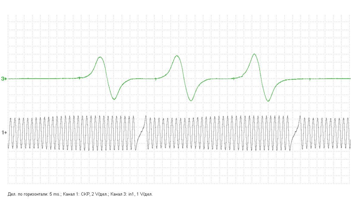 Эталон синхронизации - Сигнал ДПКВ + ДПРВ - Toyota - Avensis 2003-2008 : Image 1