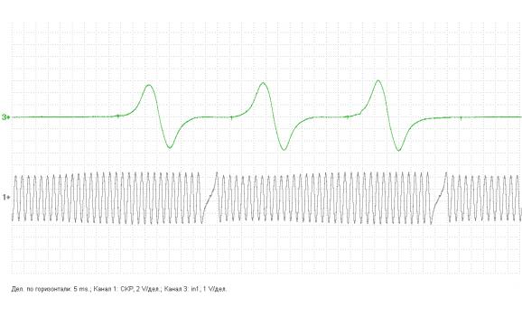 Эталон синхронизации - Сигнал ДПКВ + ДПРВ - Toyota - Avensis 2003-2008 : Image 2