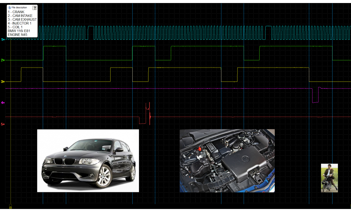 Good timing - CKP & CKM signal - BMW - 1 E81/E82/E87/E88 2004-2013 : Image 2