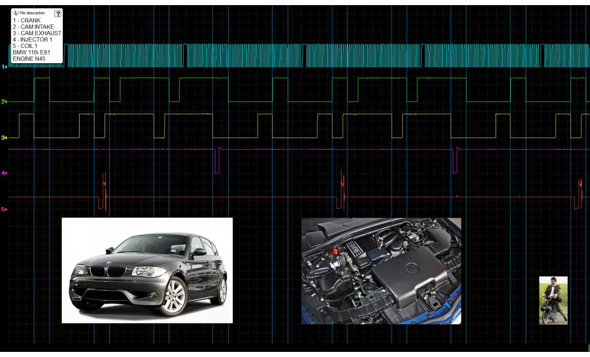 Good timing - CKP & CKM signal - BMW - 1 E81/E82/E87/E88 2004-2013 : Image 1