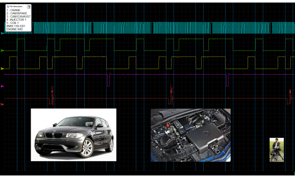 Good timing - CKP & CKM signal - BMW - 1 E81/E82/E87/E88 2004-2013 : Image 1