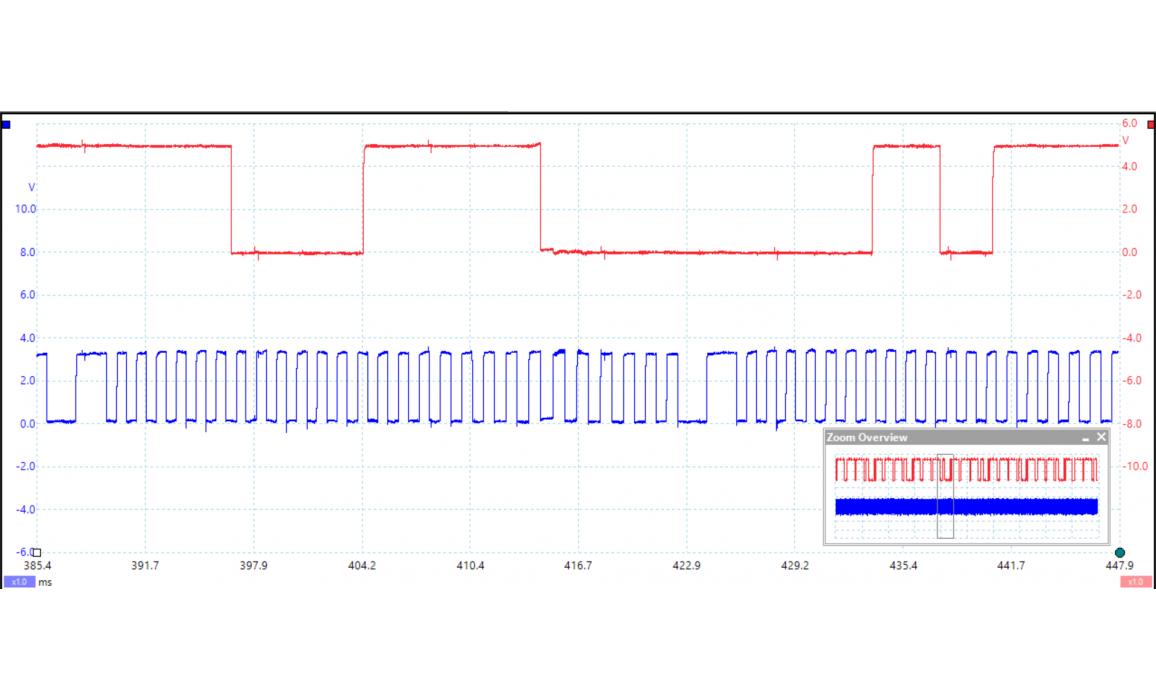 Эталон синхронизации - Сигнал ДПКВ + ДПРВ - VW - Jetta / Bora A5 2005-2010 : Image 1