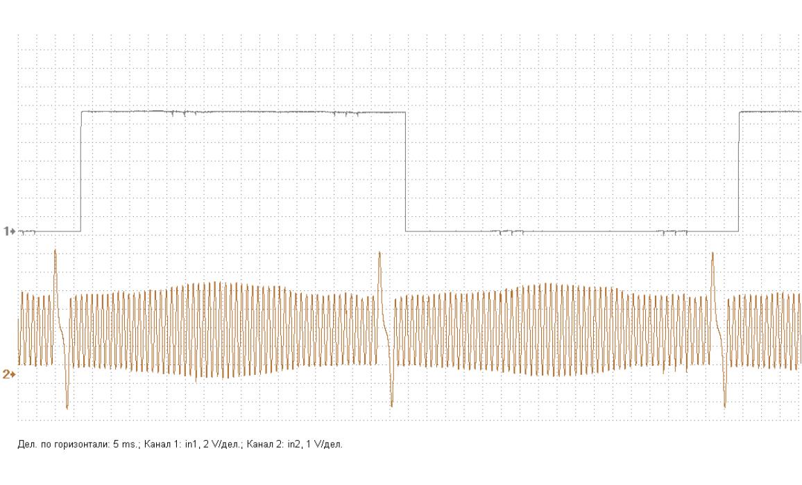 Эталон синхронизации - Сигнал ДПКВ + ДПРВ - Chevrolet - Captiva 2006-2018 : Image 2