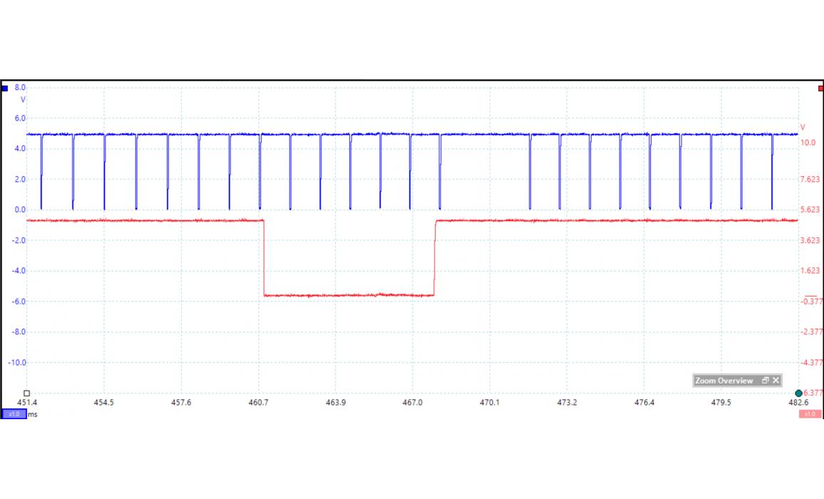 Эталон синхронизации - Сигнал ДПКВ + ДПРВ - Audi - A4 (B8) 2007-2015 : Image 1