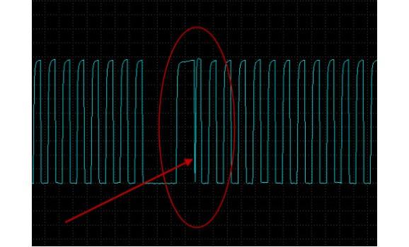 Faulty CKP sensor - Output voltage - Mazda - 6 2002-2008 : Image 1