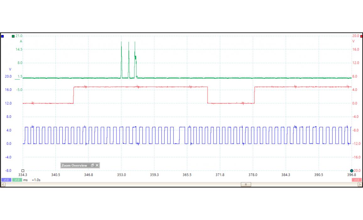 Эталон синхронизации - Сигнал ДПКВ + ДПРВ - Audi - A3 (8V) 2012- : Image 1