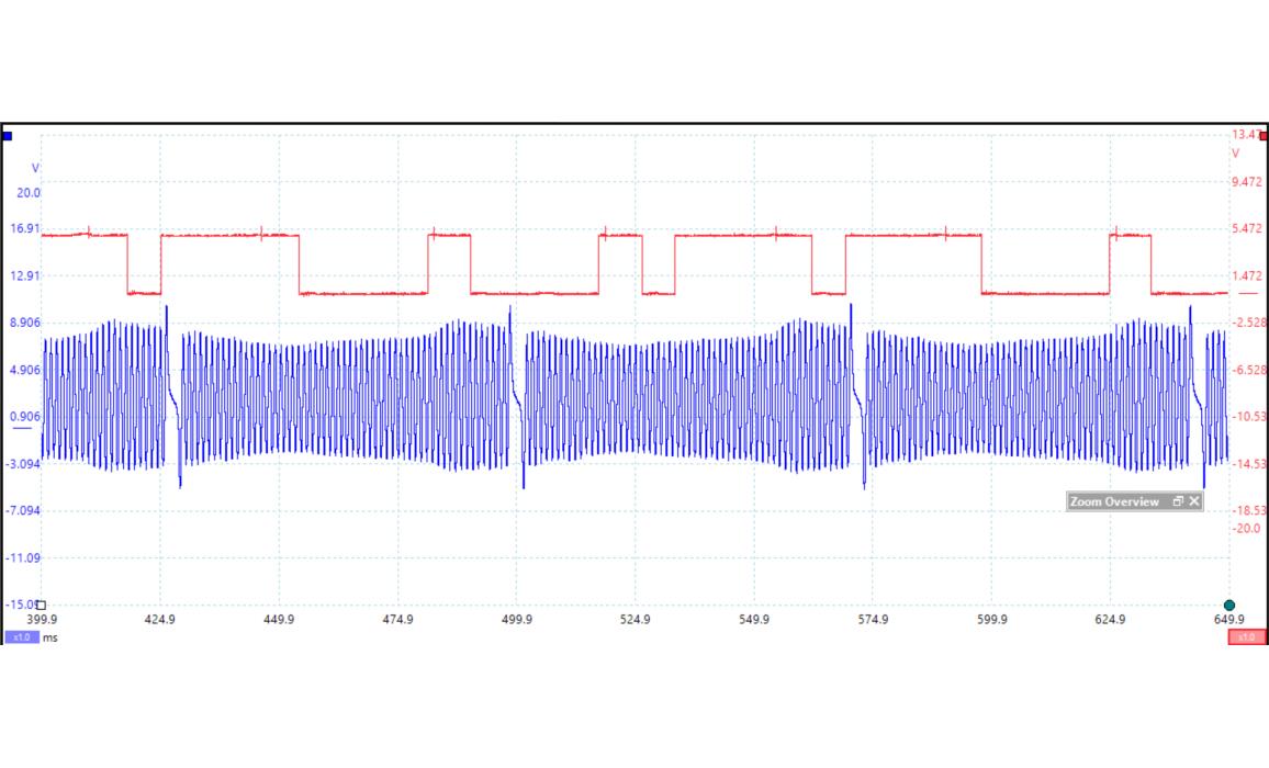 Эталон синхронизации - Сигнал ДПКВ + ДПРВ - VW - Golf 6 2008–2012 : Image 2