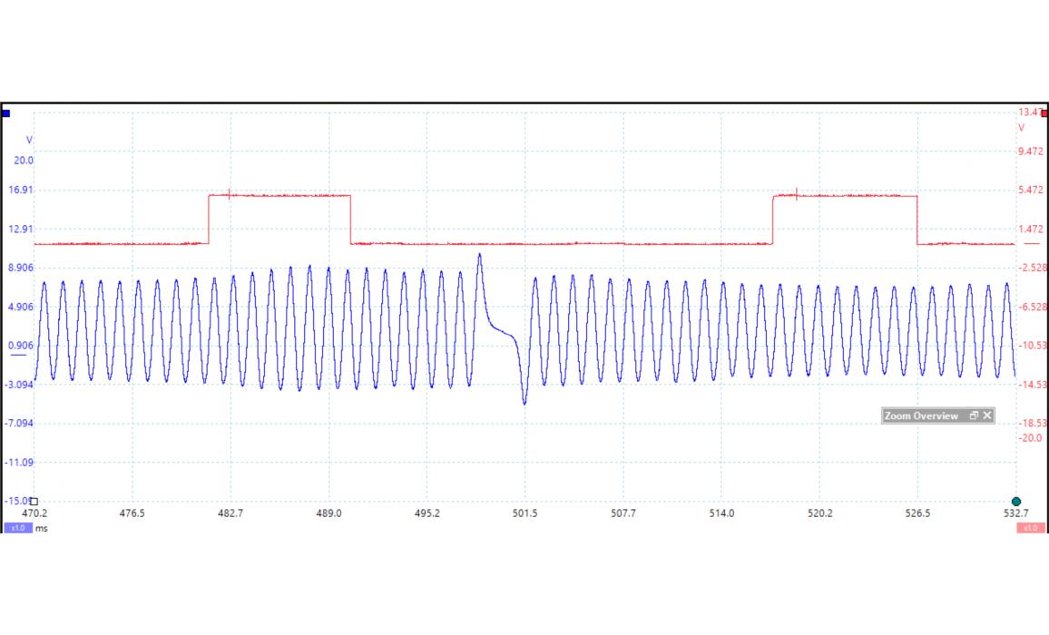 Эталон синхронизации - Сигнал ДПКВ + ДПРВ - VW - Golf 6 2008–2012 : Image 1