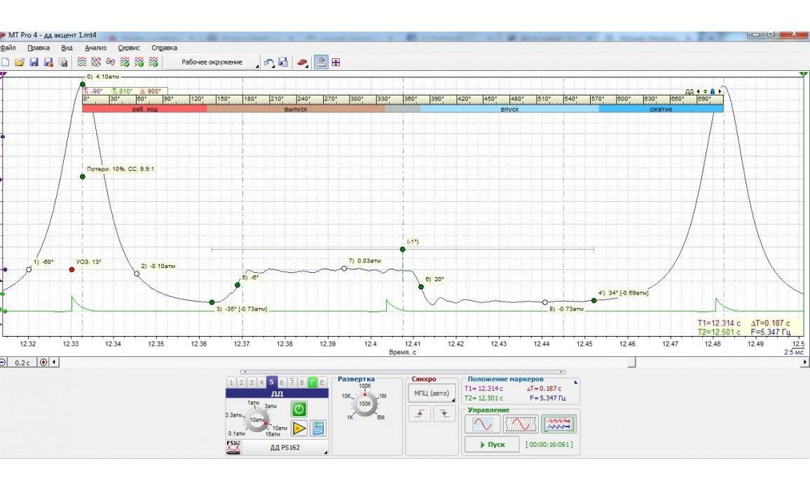 Эталон - Давление в цилиндре - Hyundai - Accent 2005-2010 : Image 2