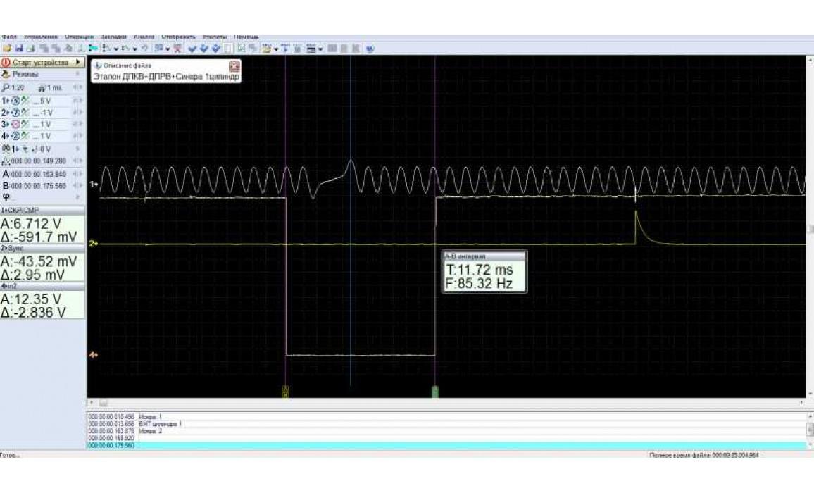 Good timing - CKP & CKM signal - UAZ - Hunter 2003- : Image 1