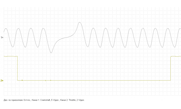 Good timing - CKP & CKM signal - VAZ - 2110 1995-2007 : Image 1