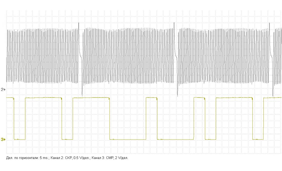 Эталон синхронизации - Сигнал ДПКВ + ДПРВ - Peugeot - 607 1999–2010 : Image 1