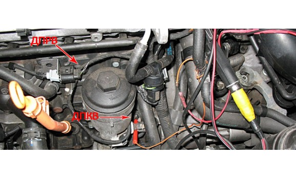How to connect a scope - CKP & CKM signal - VW - Caddy 2004- : Image 1