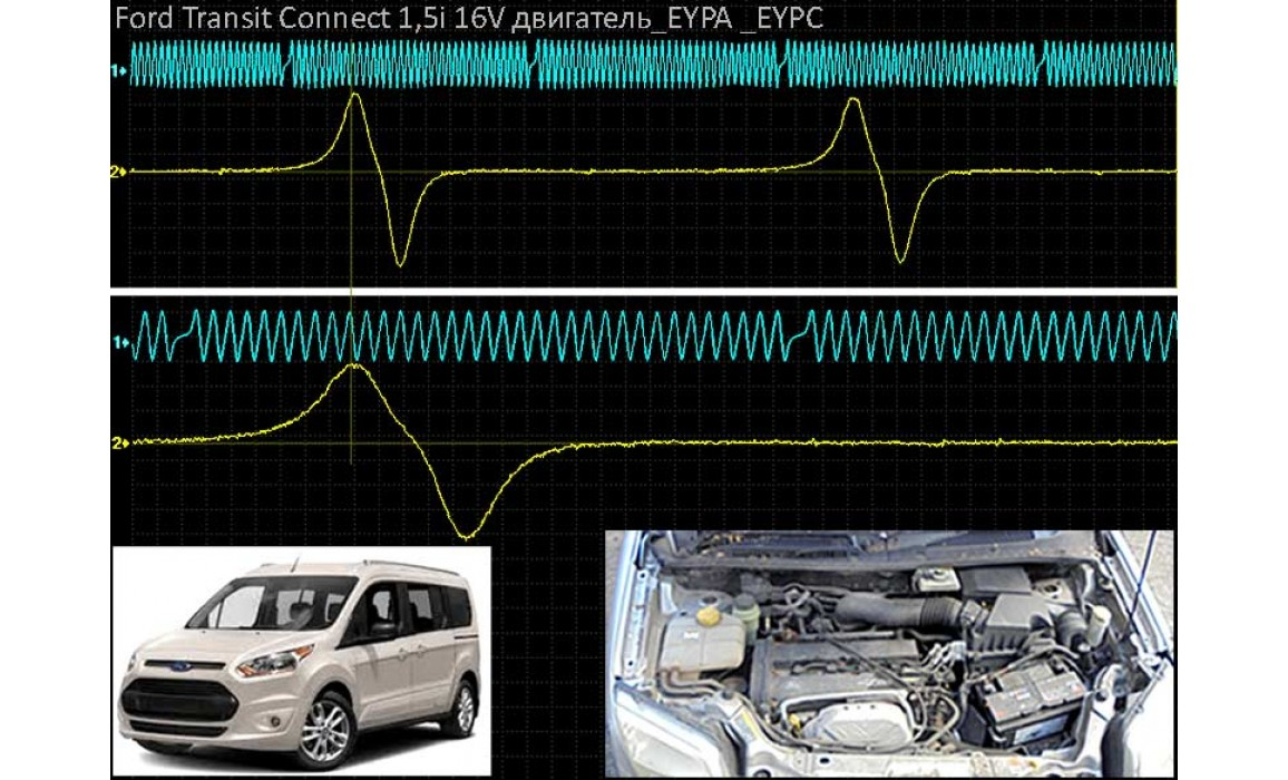 Good timing - CKP & CKM signal - Ford - Transit Connect 2013- : Image 1