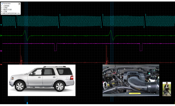 Good timing - CKP & CKM signal - Ford - Expedition 2006-2017 : Image 1