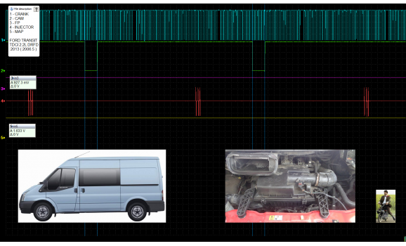 Good timing - CKP & CKM signal - Ford - Transit 2000-2014 : Image 1