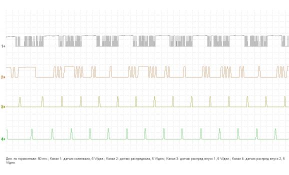 Faulty CKP sensor - Output voltage - Infiniti - FX45 2003-2008 : Image 1