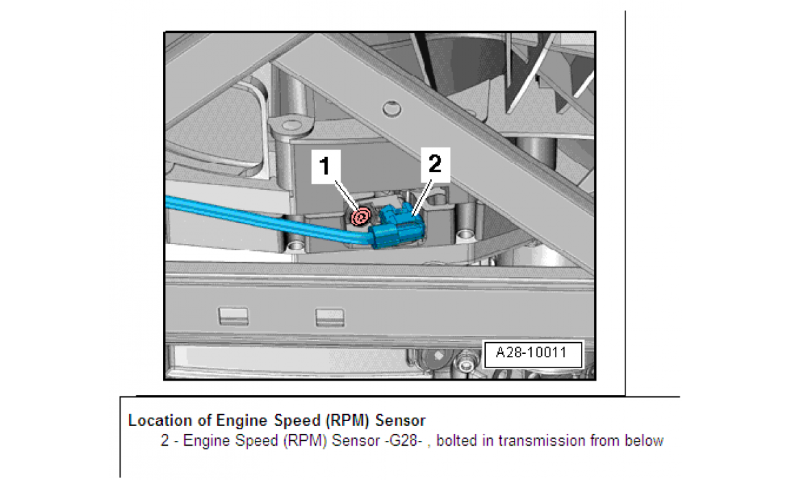 How to connect a scope - CKP & CKM signal - Audi - A8 (D3) 2002-2009 : Image 2