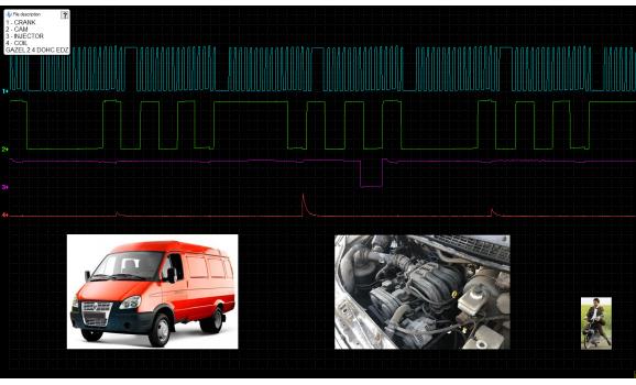 Эталон синхронизации - Сигнал ДПКВ + ДПРВ - ГАЗ - Газель-Бизнес 2010- : Image 2