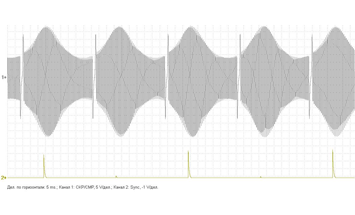 Поврежден задающий диск - Выходное напряжение - ВАЗ - Lada Granta 2011- : Image 3