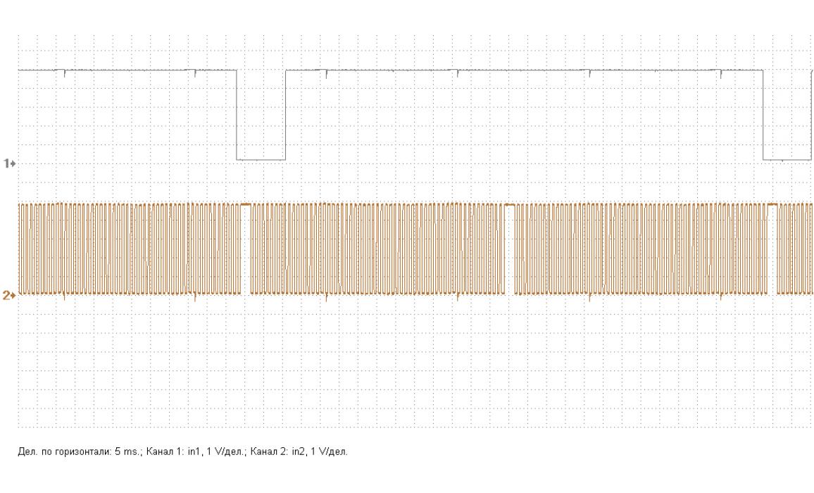 Эталон синхронизации - Сигнал ДПКВ + ДПРВ - Hyundai - Elantra 2001–2006 : Image 2