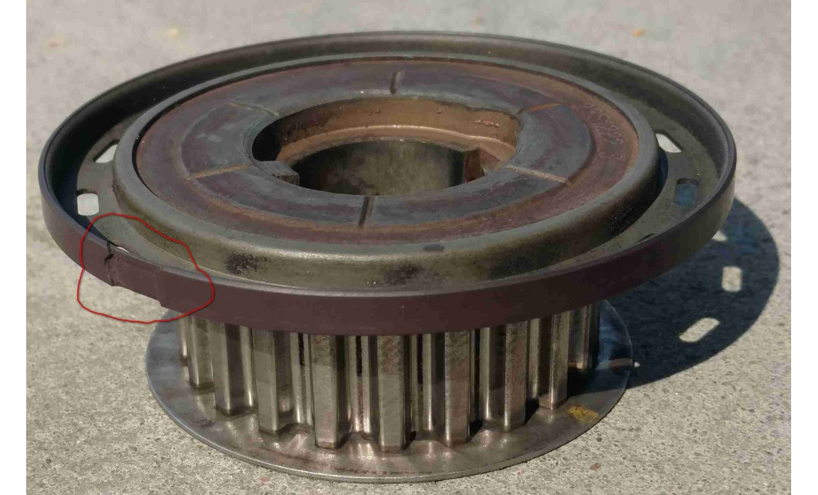 Damaged reluctor wheel - CKP & CMP signal - Ford - Fiesta 2002–2008 : Image 3