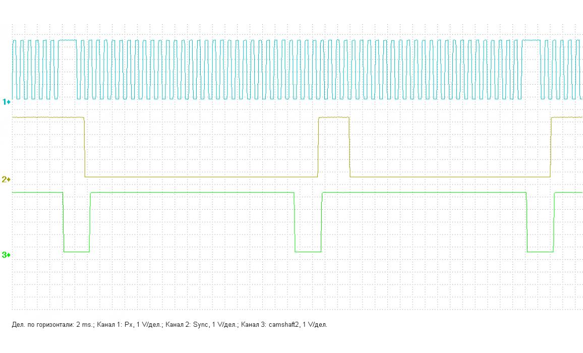 Good timing - CKP & CKM signal - Honda - Accord 2003-2007 : Image 1