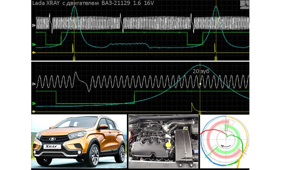 Good timing - CKP, CKM & in-cylinder pressure - VAZ - Lada XRAY 2015- : Image 1