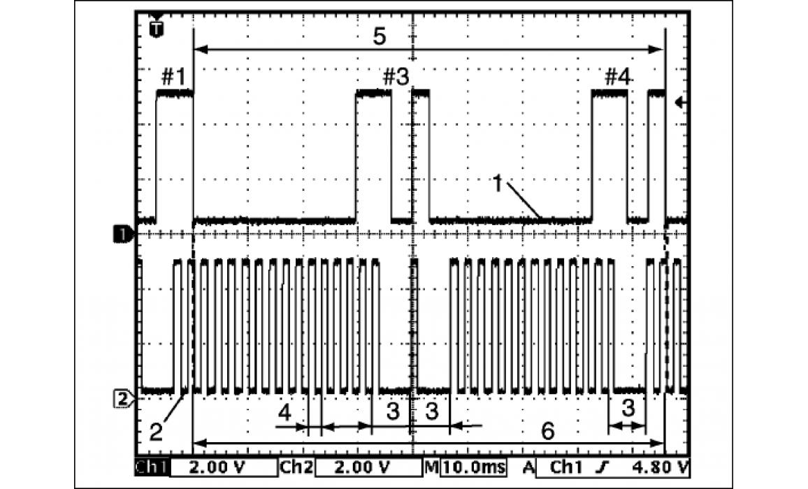 Эталон синхронизации - Сигнал ДПКВ + ДПРВ - Suzuki - SX4 2006 - 2014 : Image 3