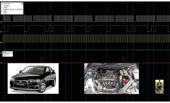Good timing - CKP & CKM signal - Mitsubishi - Lancer 2007-2017 : Image 2