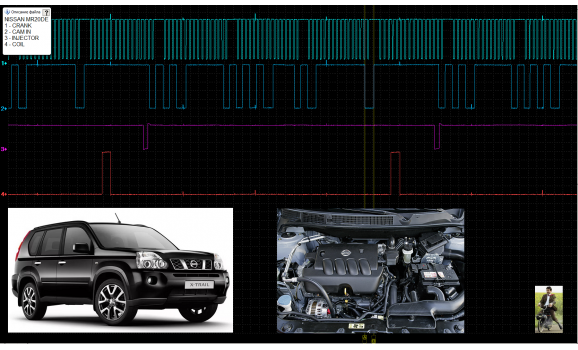Good timing - CKP & CKM signal - Nissan - X-Trail 2007-2013 : Image 2