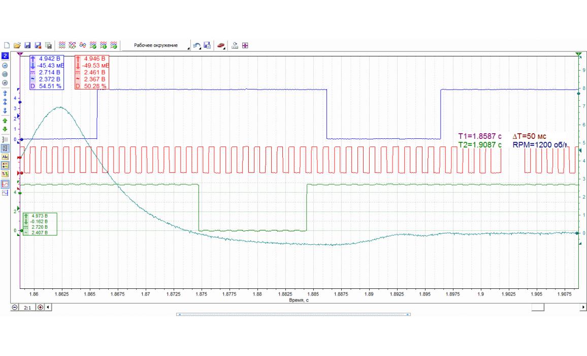 Эталон синхронизации - Сигнал ДПКВ + ДПРВ + ДД - BMW - 1 F20/F21 2011- : Image 2