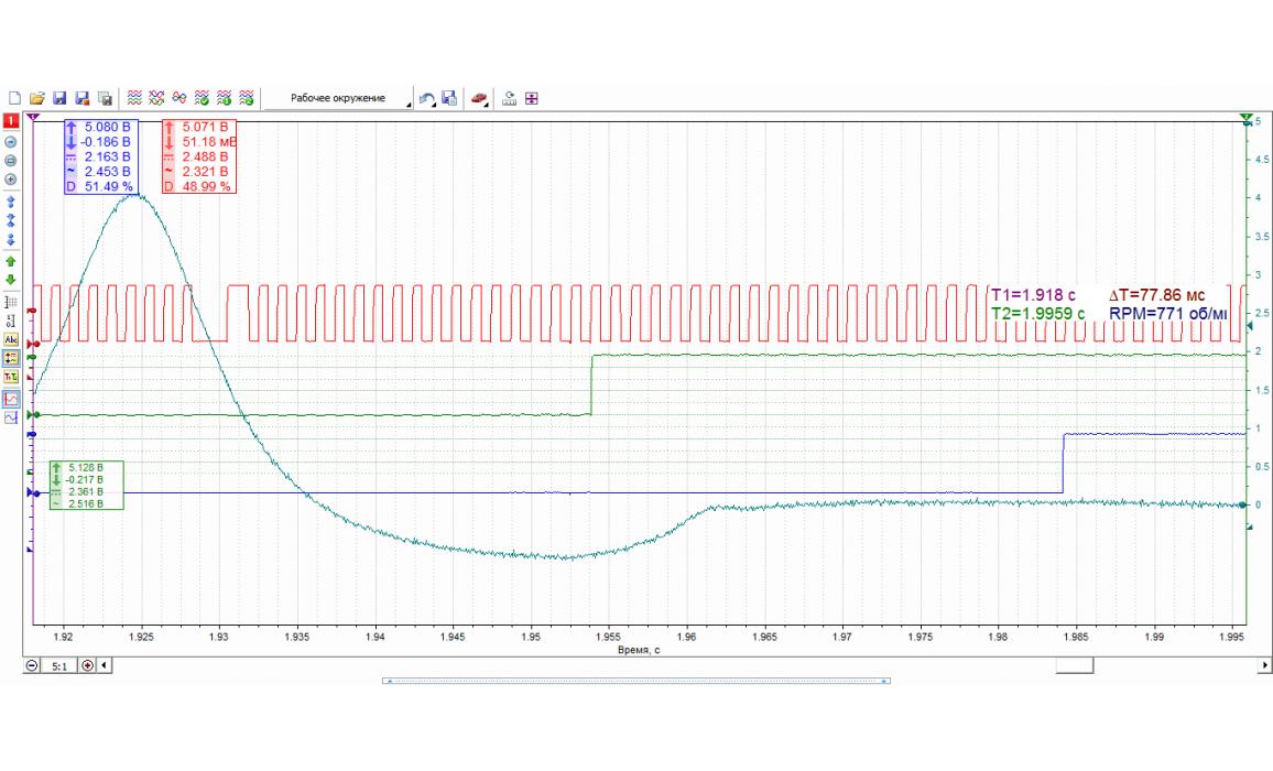 Эталон синхронизации - Сигнал ДПКВ + ДПРВ - BMW - 5 E39 1995-2003 : Image 1