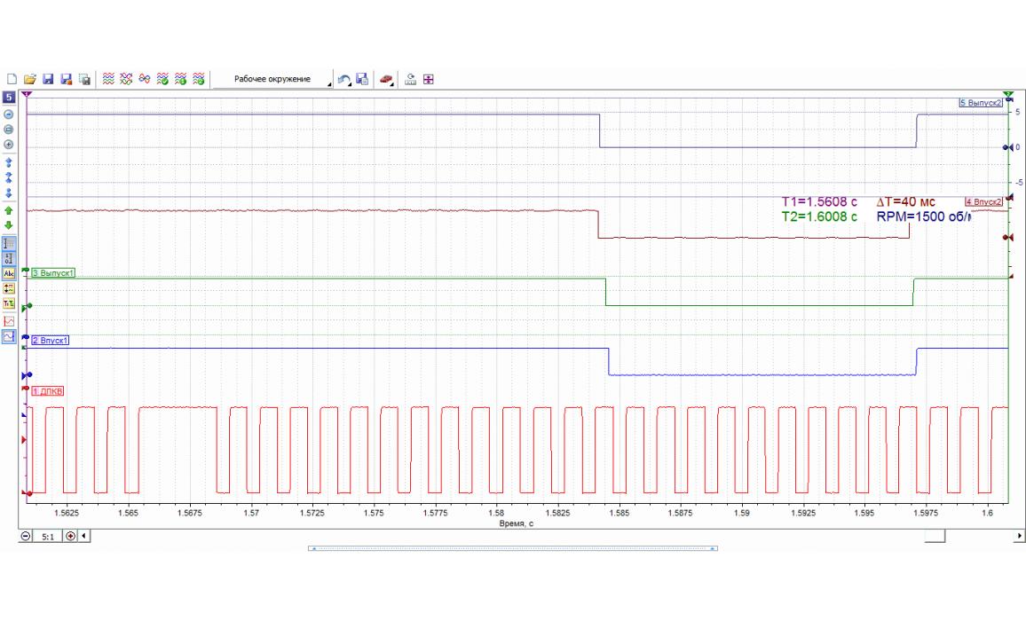 Good timing - CKP & CKM signal - BMW - X6 E71 2007-2014 : Image 1