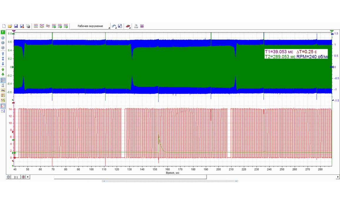 Good timing - CKP & CKM signal - Opel - Vectra B 1995-2002 : Image 1